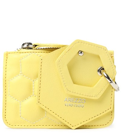 Bag Charm Amarelo Couro Bee.ZZ Citric Sun