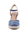 Espadrille Ethnic Pop Navy