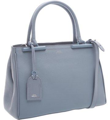 Bolsa Satchel Auguri Personalizável Retro Blue