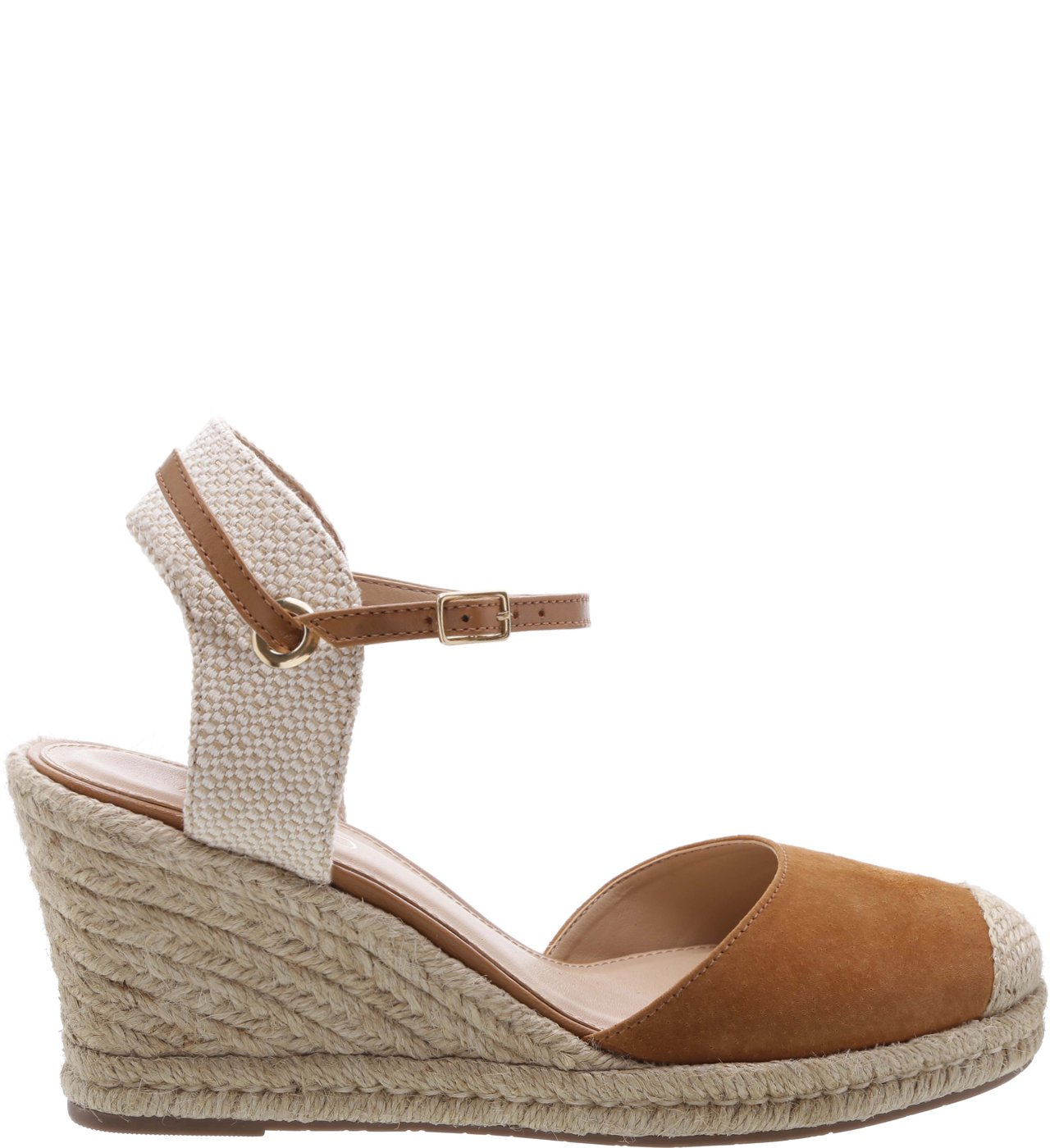 Espadrille Basic Suede Natural Wood | Arezzo