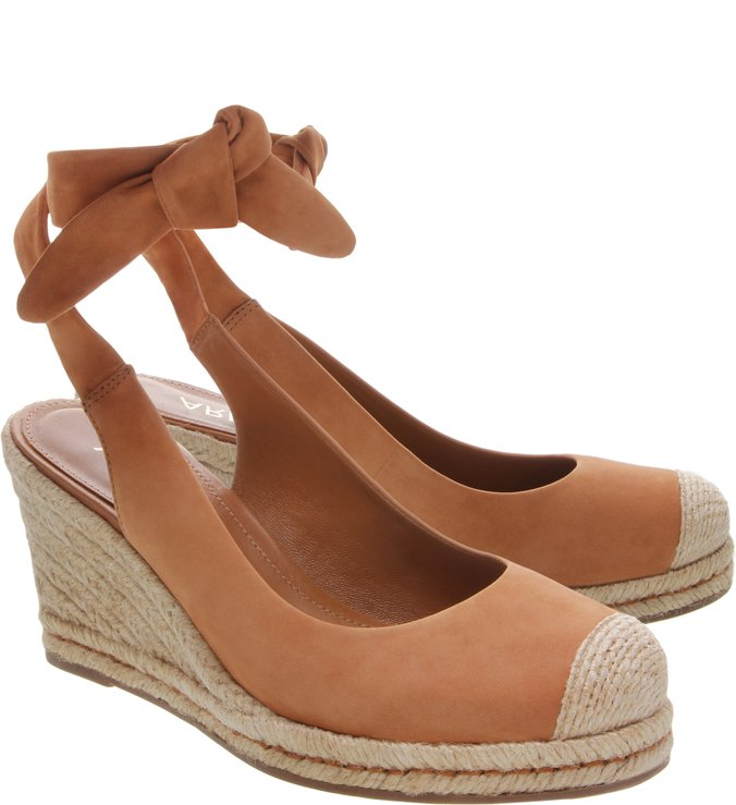 Espadrille Nobuck Alice Natural Tan