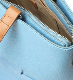 Bolsa Shopping Azul Prione Grande Colorida