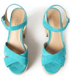 Sandália Azul Animal Fun Meia Pata