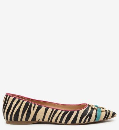 Sapatilha Multicolorida Animal Fun Zebra
