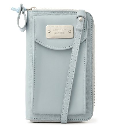 Mini Bolsa Carteira Azul Soft Pipa