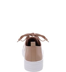 Tênis Couro Statement Light Cream