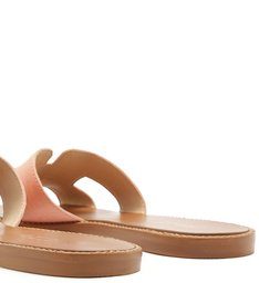 Chinelo Rasteiro Lizard New Salmon
