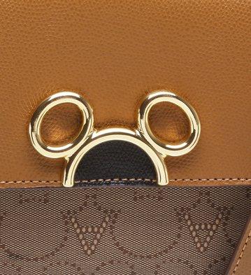 Disney x Arezzo | Bolsa Tiracolo Jacquard Scotch