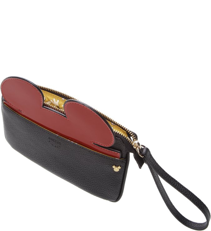 Disney | Necessaire Grande Disney Preta e Royal Red