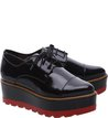 Oxford Plataforma Preto Color Line Red