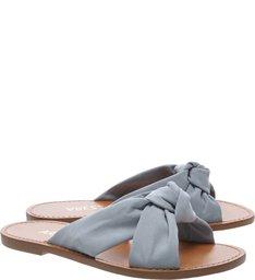 Chinelo Nobuck Entrelaço  New Jeans