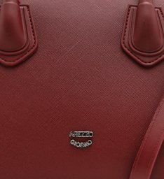 Bolsa Tote Vermelha Plástico Lara Média