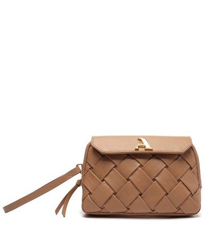 Clutch Rosa Couro Speciale