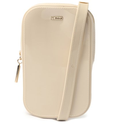 Mini Bolsa Off-White Duda Porta-Celular Brizza