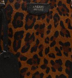 Bolsa Tote Pelo Piazza Grande West Leopardo