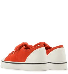 Tênis ZZ Colors Nobuck Perfect Red