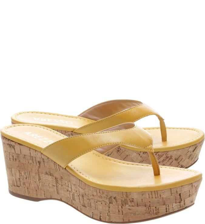Flatform Cortiça Amarelo