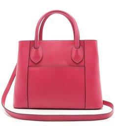 Bolsa Tote Couro Delicata Grande Pink Absolut