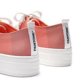 PANTONE | Tênis Rasteiro Feminino Pallete Fresh Peach