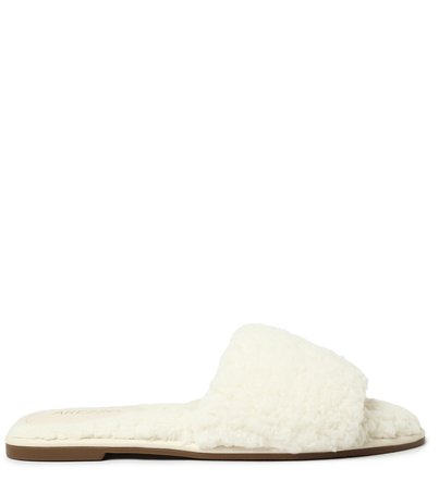 Chinelo Slide Off White Pelo Home