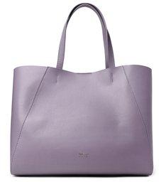 Bolsa Shopping Roxa Couro Serena Grande