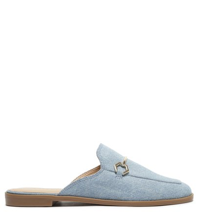 Mule Azul Jeans Bridão Balneário