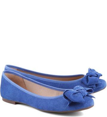 Sapatilha Laço Azul