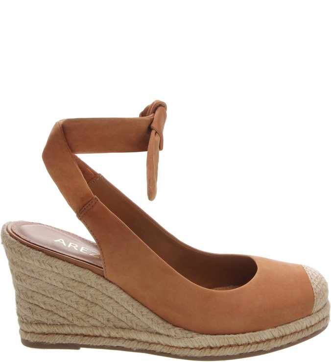 Espadrille Nobuck Alice Natural Tan | Arezzo