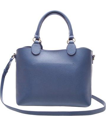 Bolsa Shopping Facile Grande Blue Bird