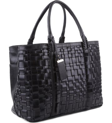 Bolsa Shopping Rebecca Preta