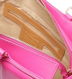 Bolsa Shopping Rosa Couro Beatriz