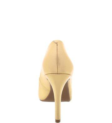 Peep Toe Dourada