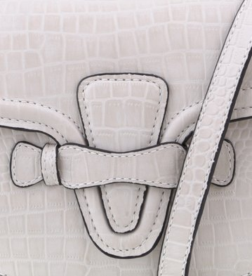 Bolsa Tiracolo Martha Off-White