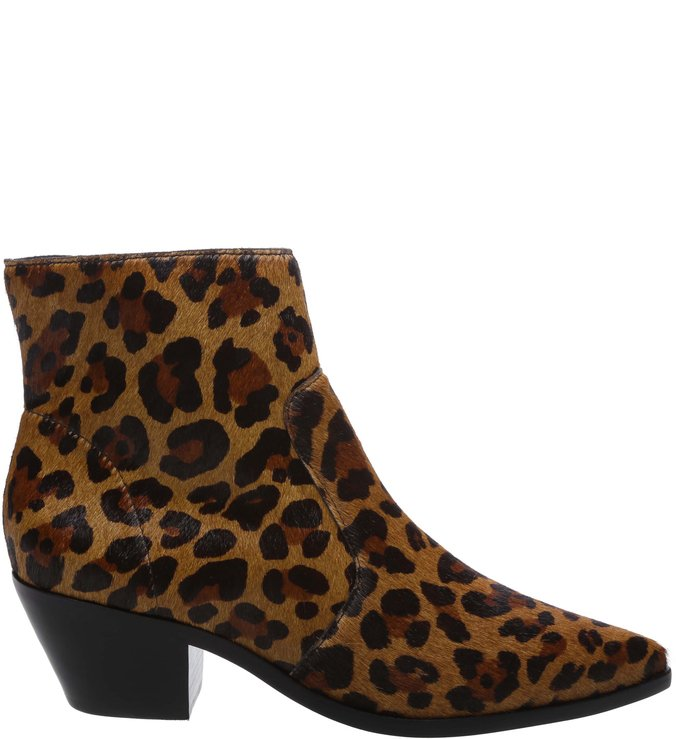 Ankle Boot West Animal Print Leopardo