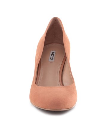 Scarpin Nobuck City Blush