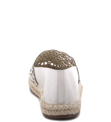 Espadrille Glam Vazados Off-White