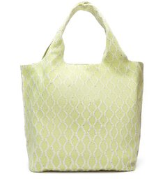 Bolsa Shopping Amarela Multimaterial Grande ZZ Bio