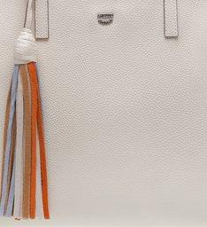 Bolsa Shopping Grande Mirelle Off White