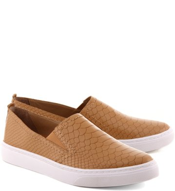 Slip-on Snake Tan