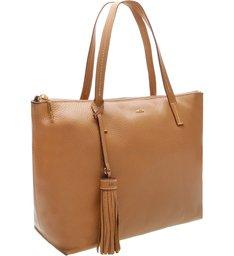 Bolsa Shopping Couro Giornata Mel