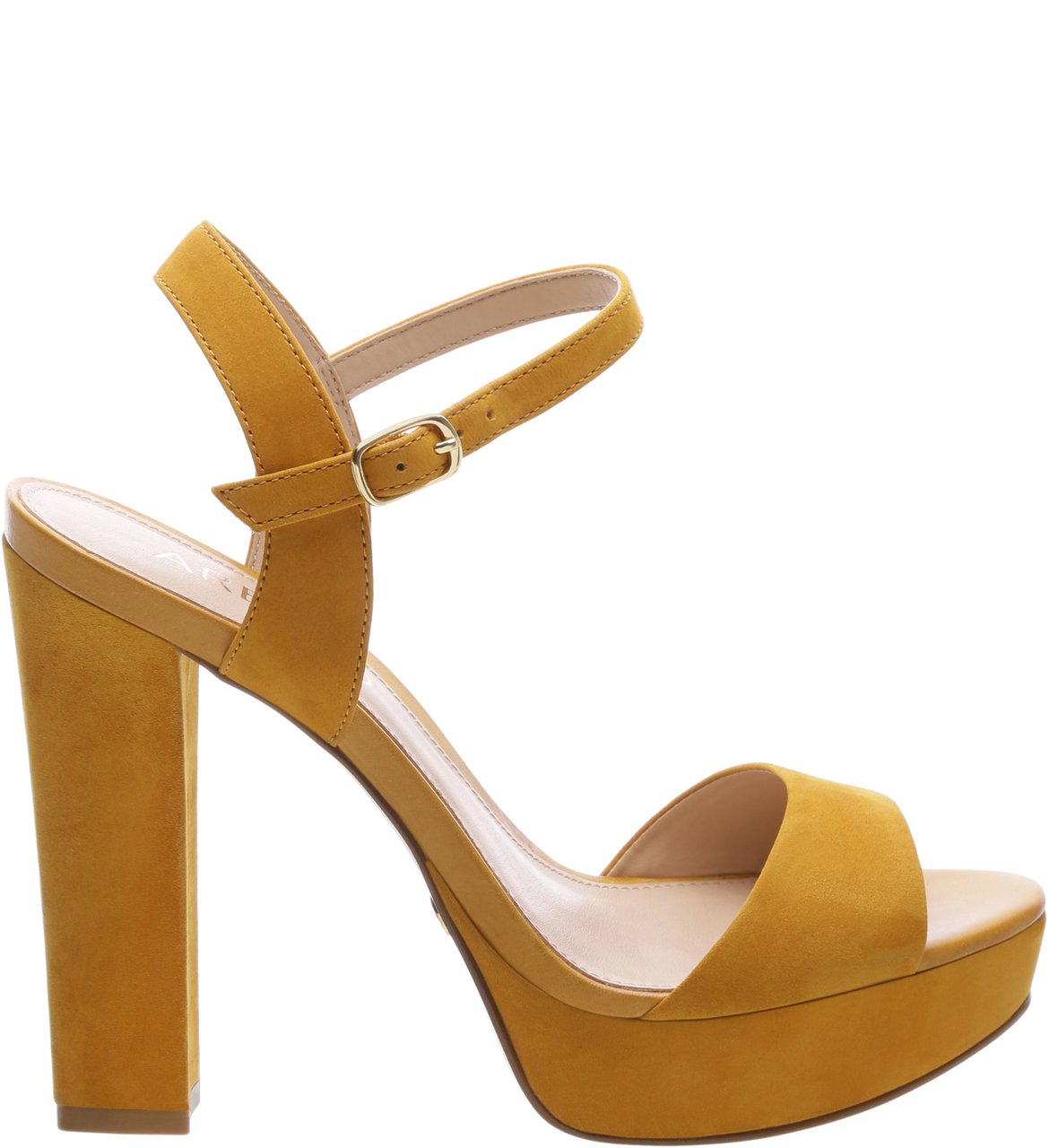Sandália Nobuck High Savannah Old Yellow | Arezzo
