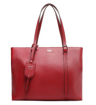 Bolsa Shopping Off-White Aline Grande