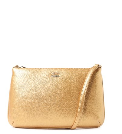 Bolsa Tiracolo Dourada Morgana Pequena