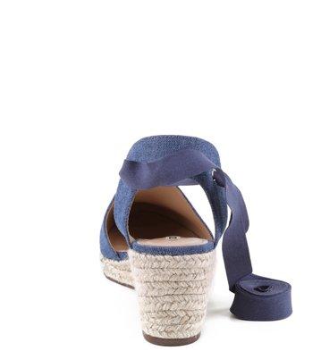 Espadrille Lona Azul