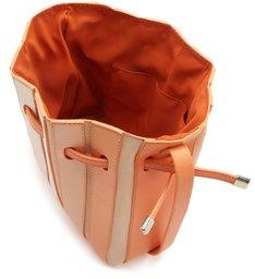 Bolsa Bucket Camurcina Pequena Laranja