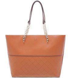 Bolsa Shopping Chain Brown