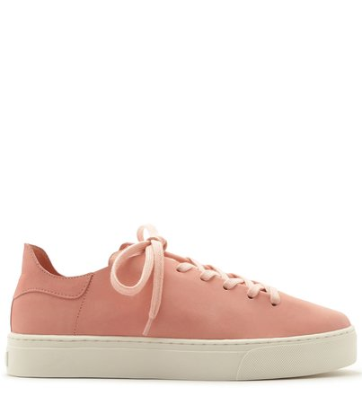 Tênis Arezzo Touch Rosa Nobuck Flower Pink