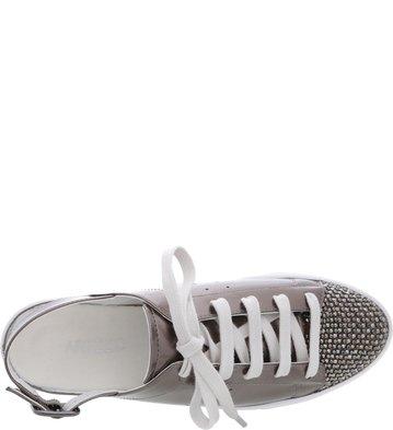 Tênis Aberto Biqueira Glam Old Silver
