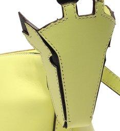 Bolsa Tiracolo Verde Couro Zuri Pequena