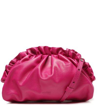 Bolsa Tote Rosa Couro Stella Pequena